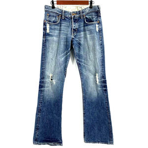 Guess Jeans Mens 30 Falcon Low Rise Button-fly